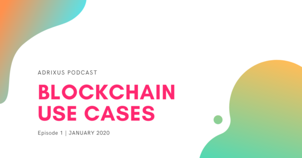 EP1. Blockchain use cases